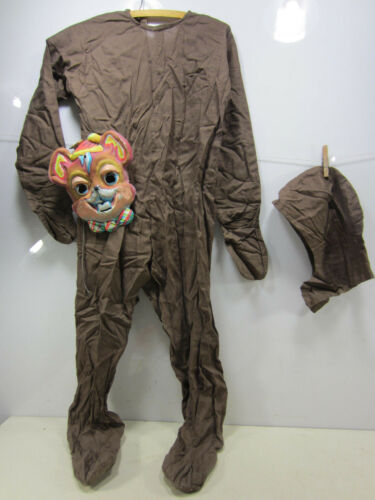 Vintage Footed Brown Mouse Childs Halloween Costume