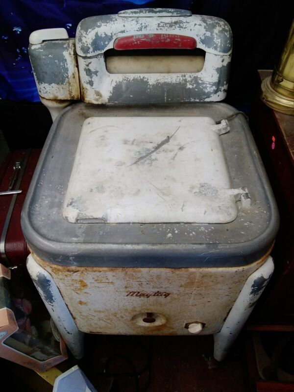 Vintage Maytag wringer washer WORKS
