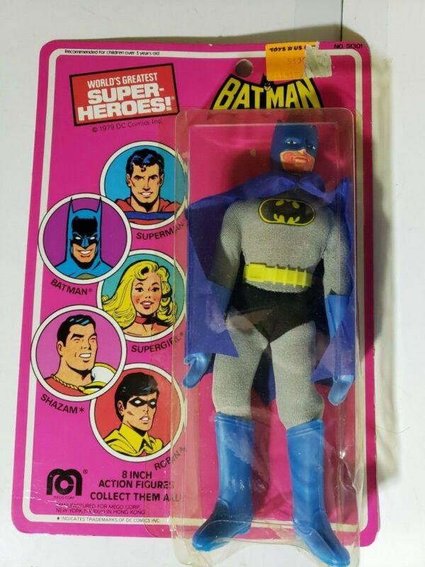 "Batman Mego World's Greatest Super-Heroes 1979 WGSH Action Figure 8"""