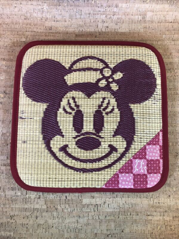 Vintage Tokyo Disney Resort Minnie Mouse Cushion, Collectible, Pre-owned