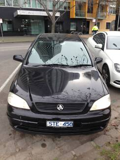 2004 Holden Astra Sedan 1.8L Auto $4500. Price INCLUDE RWC Southbank Melbourne City Preview
