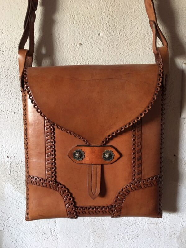 leather bag western