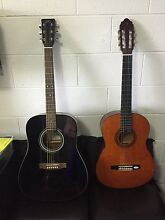 2x quality beginner guitars Claremont Glenorchy Area Preview