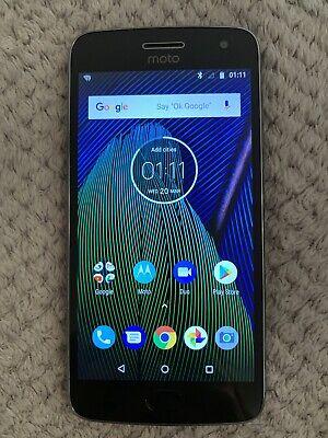 Motorola Moto G5 32 GB XT1684 (Single Sim) - Smartphone - Grey - PreOwned