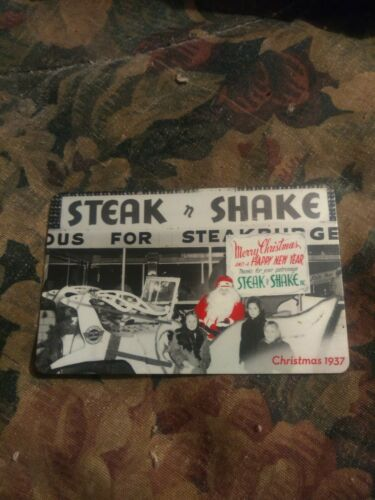 Steak n Shake Used Collectible Gift Card No Value 311  - $2.28