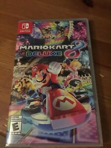 Mario Kart 8 Deluxe Brand New Sealed - Nintendo Switch
