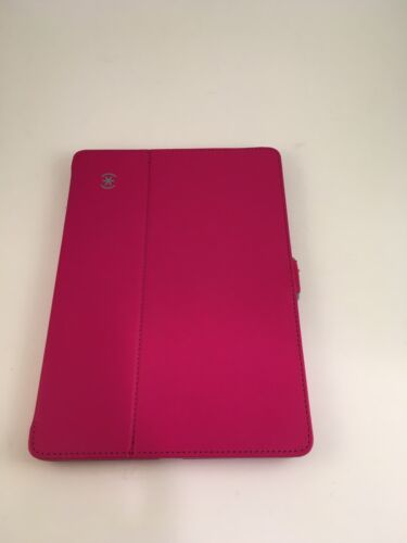 Speck iPad Air Stylefolio Luxury Case Cover Pink & Gray
