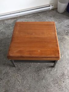 Square wood Coffee Table
