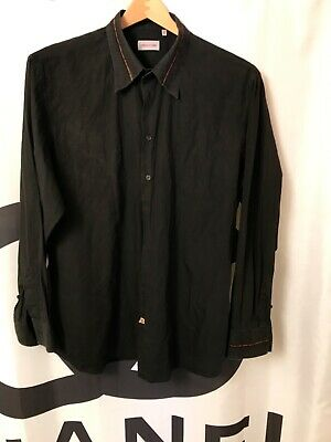 Vintage Versace Classic Mens Cotton Shirt Size 3XL/Big Guy