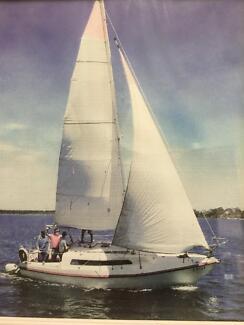 South Coast 25 yacht.