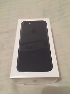 NEW IPHONE 7 Black 32Gb Sealed Plastic Sunshine Brimbank Area Preview