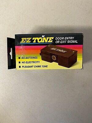 Ez-tone Magnetic Door Chime Entry Exit Alert Bronze