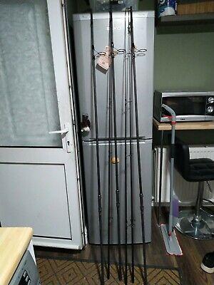 3 X Shimano Tx4 3.25lbs Rods Carp Fishing Used 4 Times