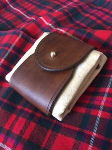 Canvas and Leather Foraging bag