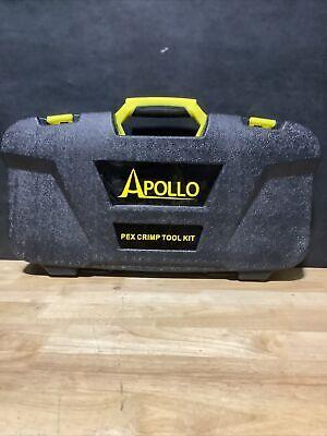 Apollo Multi-head Pex Crimp Tool Kit Tubing Crimper 38 12 34 1