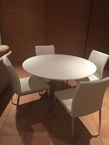 White dining suite Galston Hornsby Area Preview