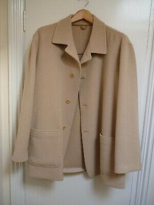 Kiton Beige Coat - Size 56 (UK46)