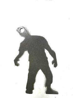 """AR500 Zombie Silhouette Steel Target Gong 12""""X 8""""X 1/2"""" (Zombie Silhouettes)"""