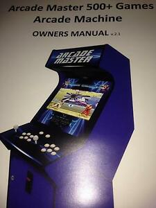Arcade machine brand new up to 600 games Abergowrie Hinchinbrook Area Preview