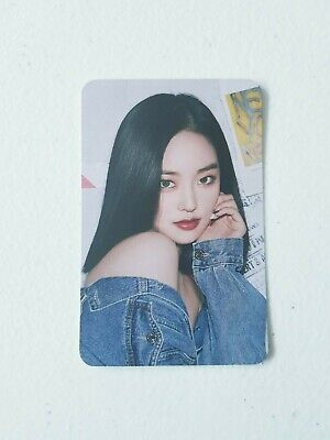 CLC YEEUN Official Limited Photocard - Official New 2020 SEASON'S GREETING