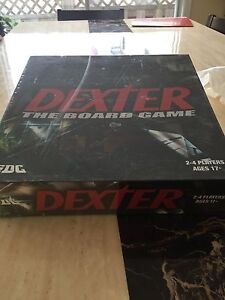 Dexter the Board Game never opened.