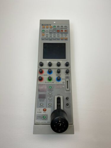 Sony Broadcast Quality Camera RCP-D50 Joystick Remote Control, Fully Working
