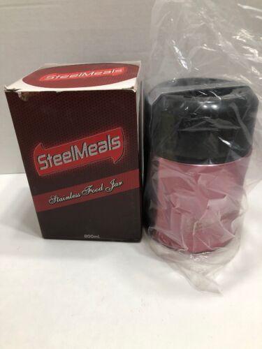 SteelMeals Stainless Steel Vacuum Insulated Food Jar & Therm