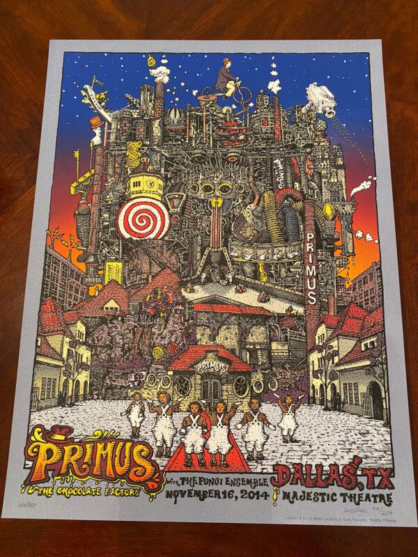 David Welker Primus Dallas 2014 Poster