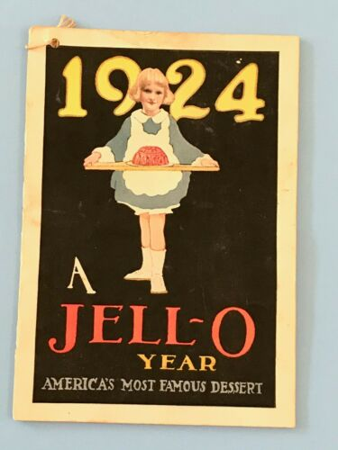 Vintage Antique 1924 Jell-O Advertising Recipe Booklet Lucile Patterson Marsh