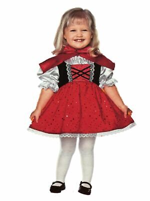 Toddler Little Red Riding Hood Halloween Costumes (Toddler Girls Little Red Riding Hood Halloween Costume Dress & Hooded Cape)