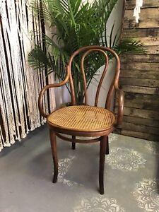 vintage Thonet bentwood arm chair