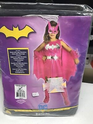 Batgirl Costume Kids Pink Female Superhero Halloween Toddler/Infant size - Kids Female Superhero Costumes