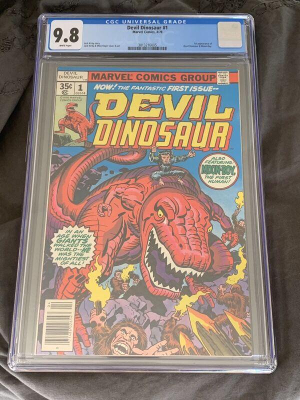 Marvel Comics' Devil Dinosaur #1  CGC 9.8  1978 White pages!