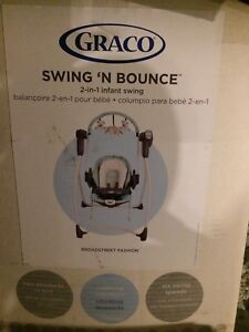 Graco swing and bounce