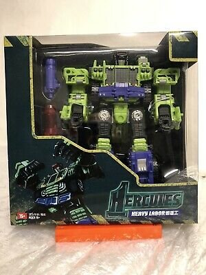 Transformers 3rd Party TFC Hercules Heavy Labor Constructicon Devastator