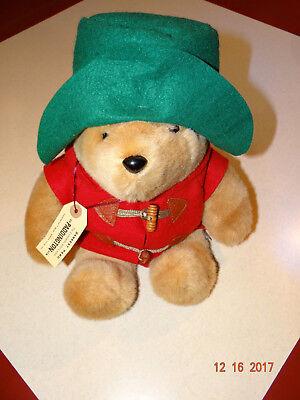 "Vintage Paddington Bear Darkest Peru 15"" Stuffed Bear with Tag Eden Toys"