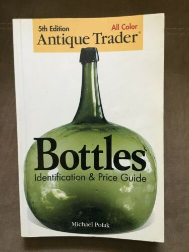 Lot of 4 Vintage Antique Glass & Bottle Research Price Books