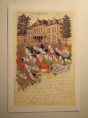 Münster - Zirkel & Farbschilde - Corps - Burschenschaft VDSt ... / Studentika