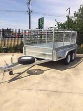 8x5 Heavy Duty Tandem Galvanised Trailer 400mm High Sides Murray Bridge Area Preview