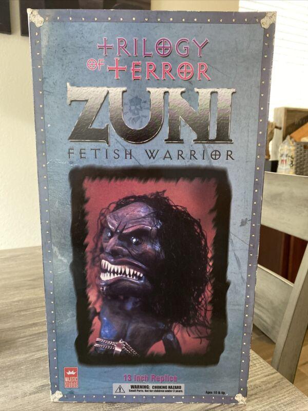 "Zuni Fetish Warrior 13"" Replica Trilogy of Terror 2004 Majestic Studios Figure"