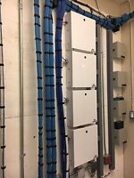 CCTV Door Security Access Structured voice/data cabling