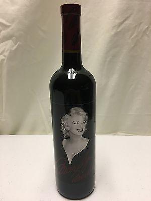 Merlot Valley Wine (2006 Marilyn Monroe Merlot Napa Valley Red Wine Full Bottle  )