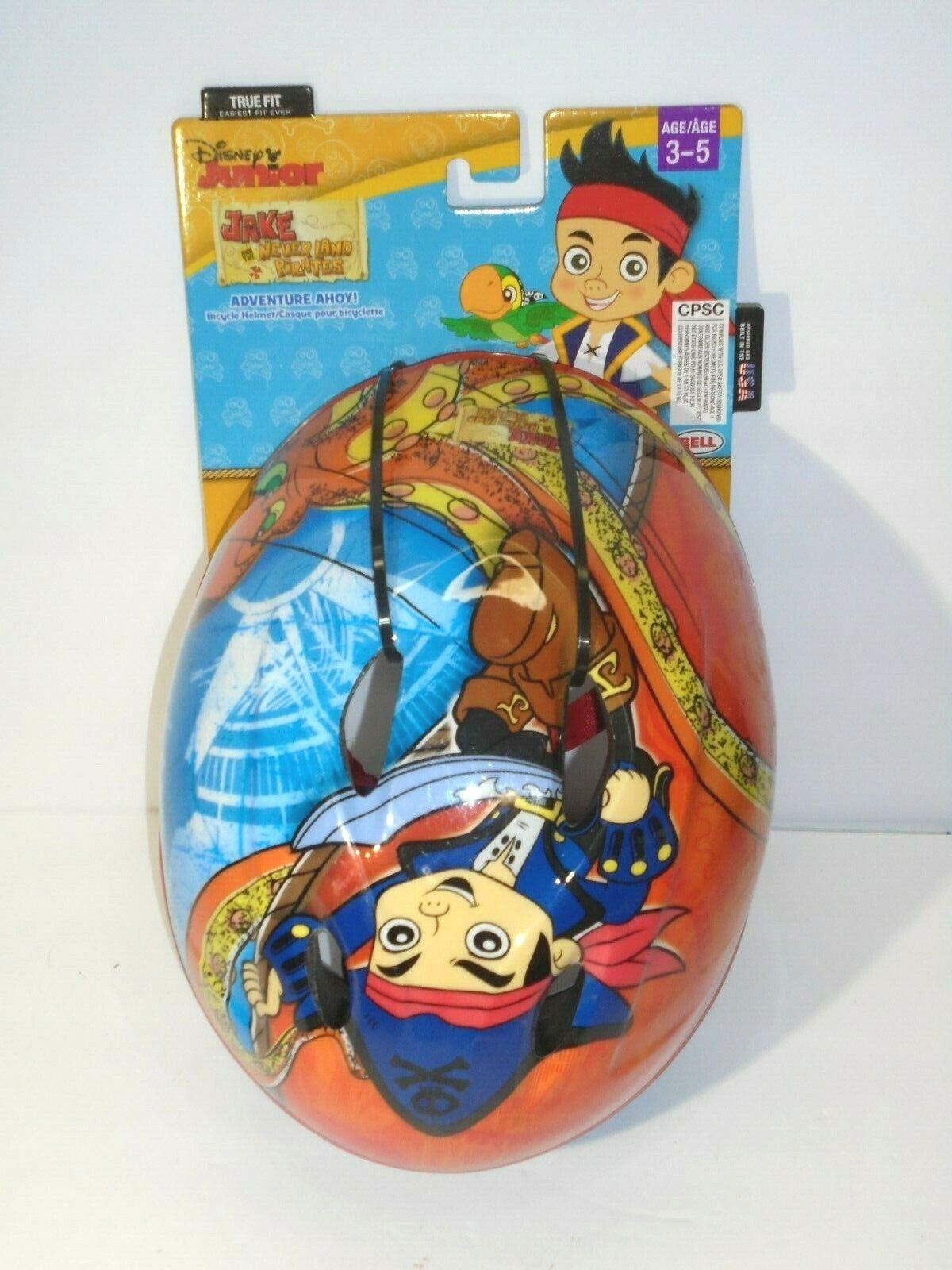 BELL True Fit Disney Jake Neverland Pirates Kids Bike Helmet