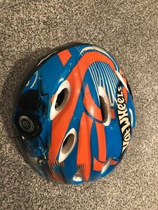 Hot wheels bike helmet used 43-52 cm $5 obo
