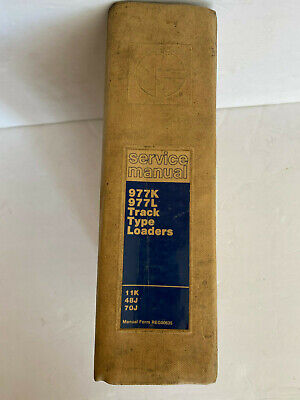 Caterpillar Cat 977k 977l Track Loader Shop Service Repair Manual 11k 48j 70j