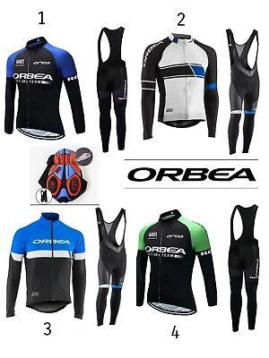 equipacion invierno orbea maillot culotte mtb ciclismo triatlon btt