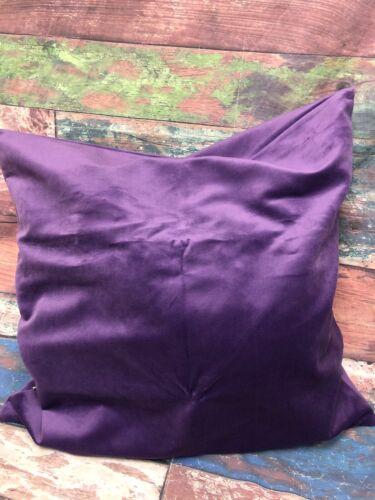new solid velvet throw pillow cover euro