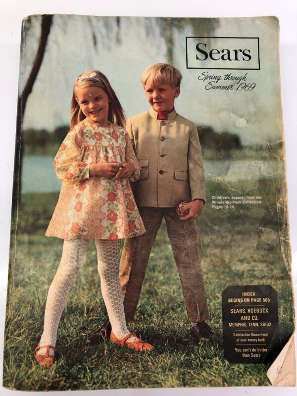 Sears Roebuck Sears Spring through Summer 1969 catalog Rare Vintage