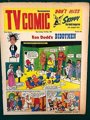 TV COMIC #856 weekly British comic book May 11 1968 Doctor Who in full color