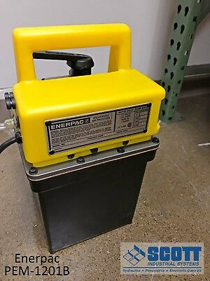 Enerpac Pem-1201b Pump